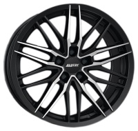 Alutec Burnside Diamond Black Front Polished