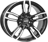 Alutec Drive Diamant black front polished